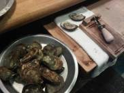Shucking class at Oyster Boy :)