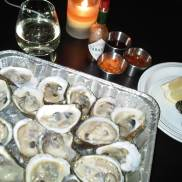 Our self-shucked feast!
