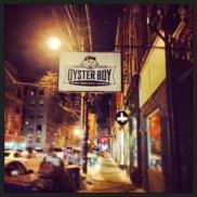 My fave oyster bar, Oyster Boy.
