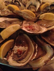 Oyster pile up.