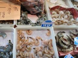 Shrimp at Domenic's Fish, St. Lawrence Market