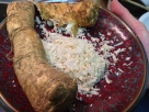 Freshly grated horseradish