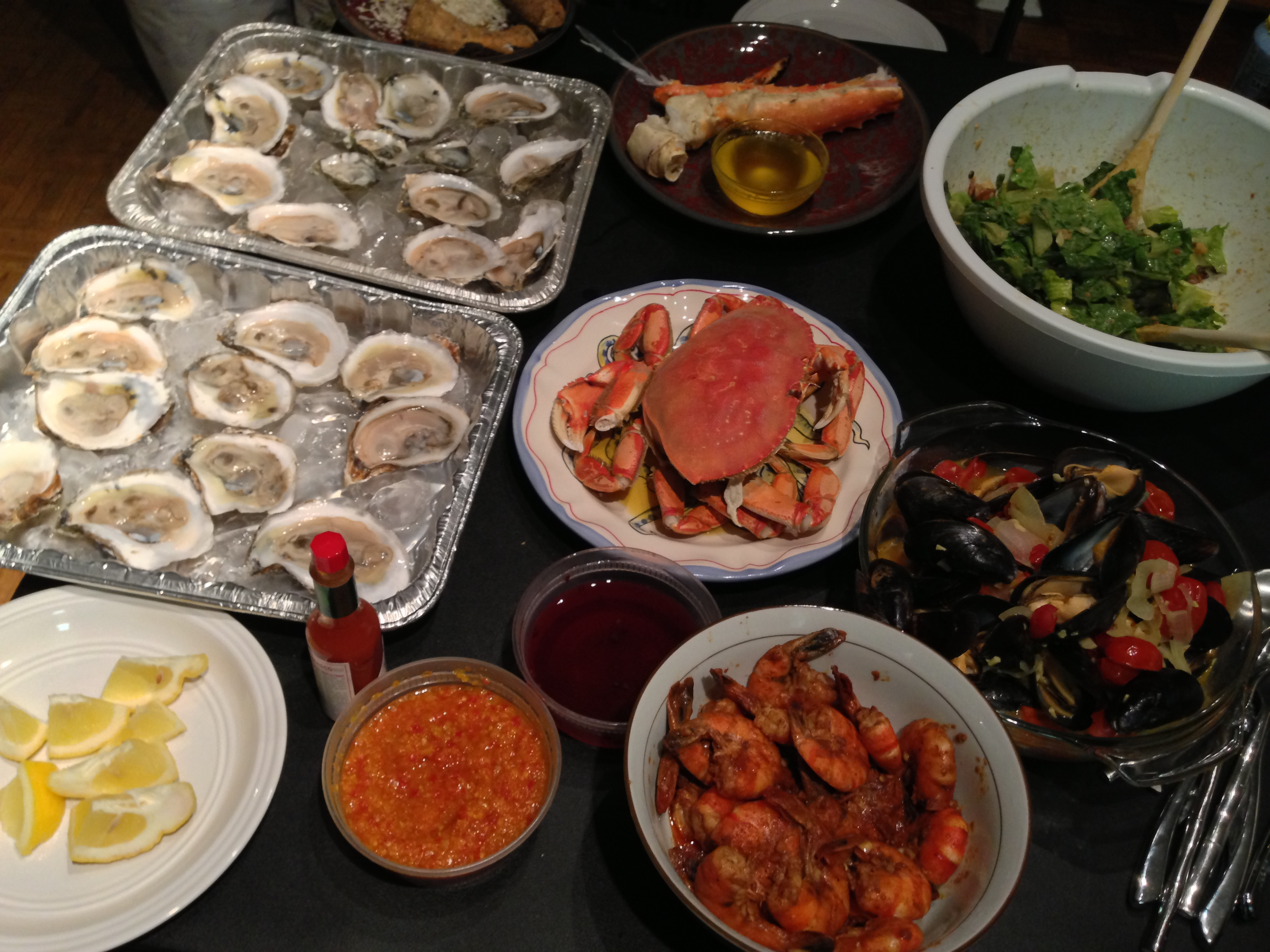 St lawrence market this weekend s seafood haul and for Lawrence fish market menu