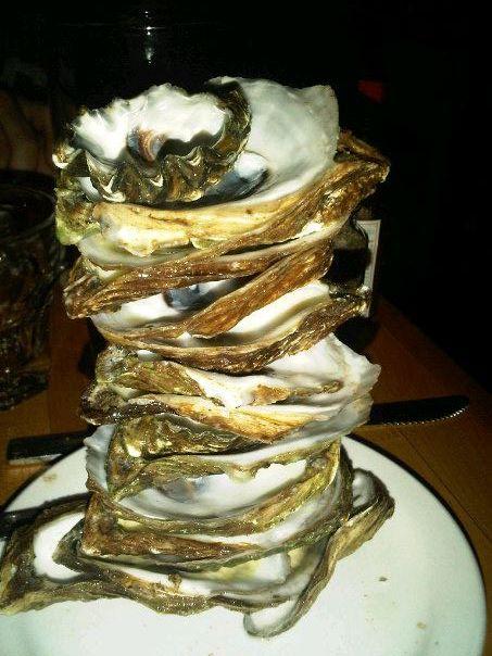 oyster jenga