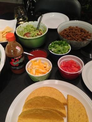 Taco night.